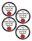 Teacher Appreciation Week Gift Tag