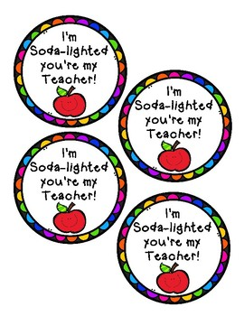 Teacher Appreciation Week Gift Tags Worksheets Teaching Resources Tpt