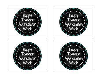 photograph about Teacher Appreciation Tags Printable identify FREEBIE! Trainer Appreciation 7 days Present Tag Printables!