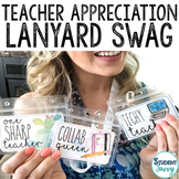 Teacher Appreciation Week Lanyard Swag - Editable Tags