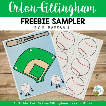 Orton-Gillingham Activities: FREE SOS Spelling Game Multisensory Spelling