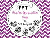 Teacher Appreciation Week Gift Tags! {Freebie}