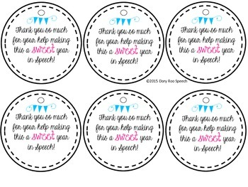 Teacher Appreciation Week Gift Tags! {Freebie}