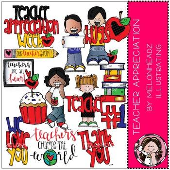 Teacher Appreciation clip art - Melonheadz Clipart