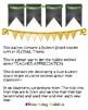 Teacher Appreciation decor - FLORAL theme (PTA, PTO)