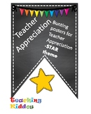 Teacher Appreciation decor - Star theme (PTA, PTO)
