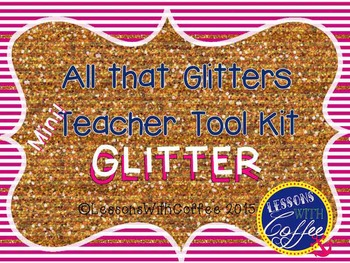 Mini Teacher Tool Kit (glitter)