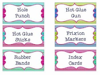 Mini Teacher Tool Kit (glitter)