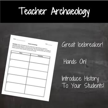 Teacher Archaeology