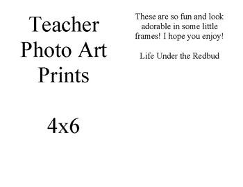 Teacher Art Prints