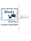 Teacher As Advisor:  Personal Study Skills and Habits Review Survey Student Form