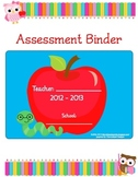 Teacher Assessment Binder - Owl Themed