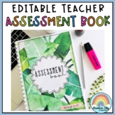 Teacher Assessment Book - Assessment Binder