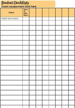 Teacher Assessment Booklet 2019 Version 4