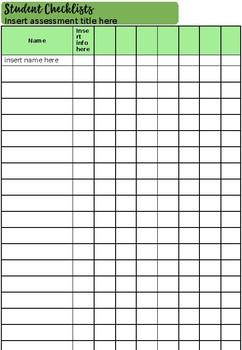 Teacher Assessment Booklet 2019 Version 5