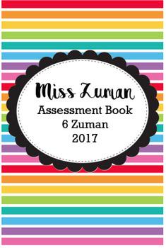 Teacher Assessment book {Editable}