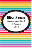 Teacher Assessment book {Editable}