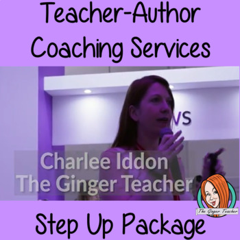 Teacher-Author Step Up Coaching Package