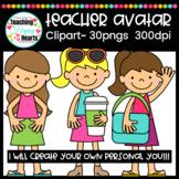 Teacher Avatar Clipart