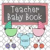 Maternity Baby Book- Editable