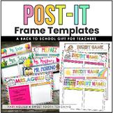 Teacher Back-to-School Gift: Post-It Holder