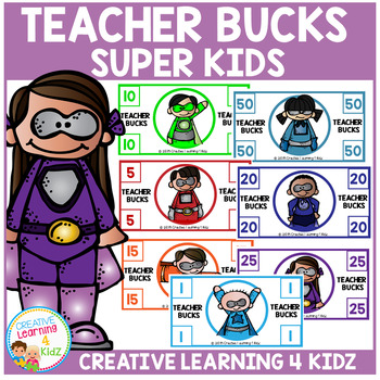 Teacher Behavior Bucks