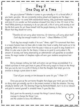Teacher Bible Study: Renew