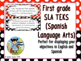 Teacher BilingualFirstgradeSLATEKSSpanishLanguageArtsinEng