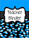 Teacher Binder {Editable}