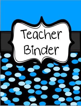 Teacher Binder {Editable}