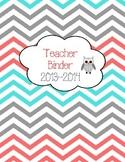 Teacher Binder 2013-2104