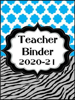 Teacher Binder 2017-18 Editable Edition