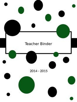Teacher Binder 2015-16
