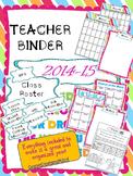 Teacher Binder 2014-2015 Bright