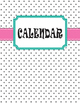 Teacher Binder 2015 - 2016: Polka Dots with Owl, Pink Ribbon, and Teal Accents