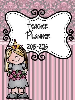 Teacher Binder 2015-2016  (Pretty in Pink)
