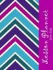 Teacher Binder 2014-2015 {Purple/Green/Blue Chevron}