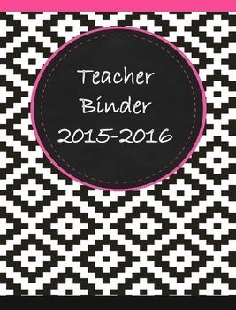 Teacher Binder 2015-2016 Aztec 2