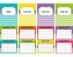 Chevron Teacher Binder 2017-2018 (Covers, Spines, Forms & Calendars) Editable