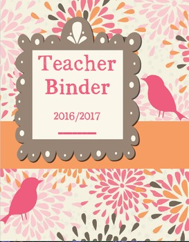Teacher Binder 2016/2017
