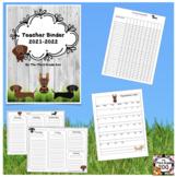 Teacher Binder 2018-2019 Dachshund Edition