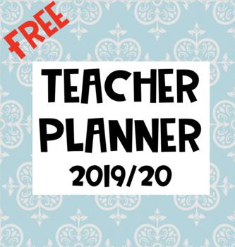 FREE Teacher Binder 2017/18 - Editable