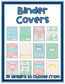 Teacher Binder - 2018/19 {Editable} -