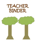 Teacher Binder 2017-2018