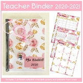 Teacher Binder 2020 - 2021