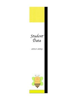Teacher Binder Bee Theme Editable