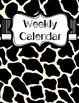 Teacher Binder-Black and White theme