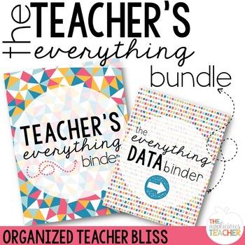 Teacher Everything Binder Bundle