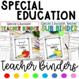 Special Education Teacher Binder Bundle