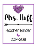 Teacher Binder/Calendar Bundle [Purple]